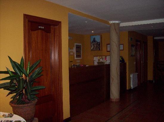 Hotel Rincón de Antón: Recepción