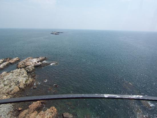 Boston Light: The view from the top!
