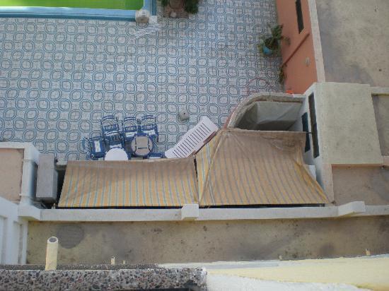 Residence Fleurie: Terrasse piscine!