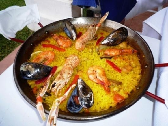 Hotel La Luna Blanca : スペインに来たら、やっぱりパエリヤ