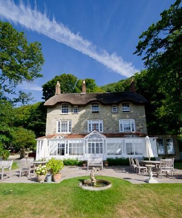 Hillside Hotel: Hillside set below the wooded cliffs above Ventnor