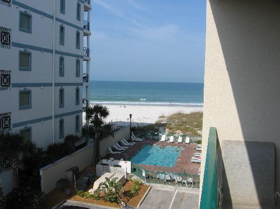 Vistas on the Gulf: View from balcony of #408