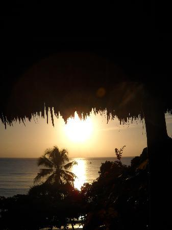 Sazani Beach Lodge: Sunrise from Room 10