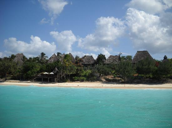 Sazani Beach Lodge: Sazani from the sea