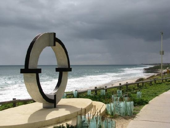 Perth, Australien: Cotttesloe Beach