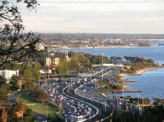 Perth at peak hour