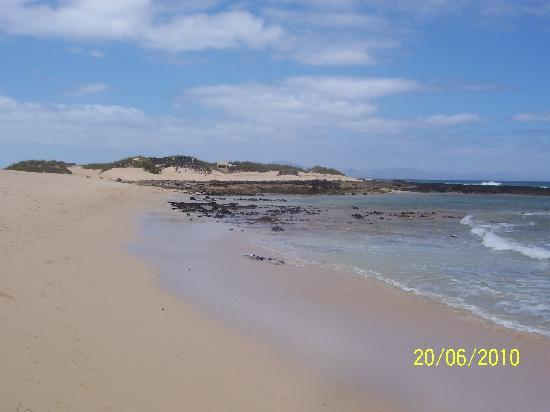 Infiniti Fuerteventura: Plage dans le Parc Naturel de Corralejo
