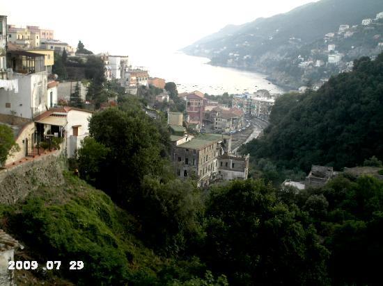 Vietri sul Mare, إيطاليا: panorama da Valle delle Najadi