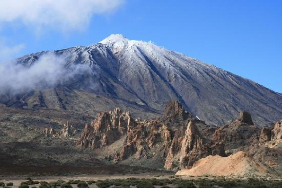 Parador de Canadas del Teide : Der Berg Teide