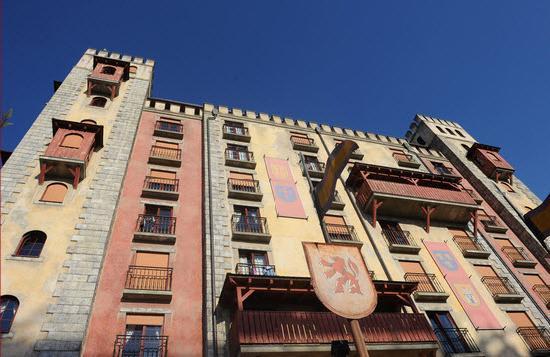 """Hotel """"Santa Isabel"""" Europa-Park : Santa Isabell von aussen"""
