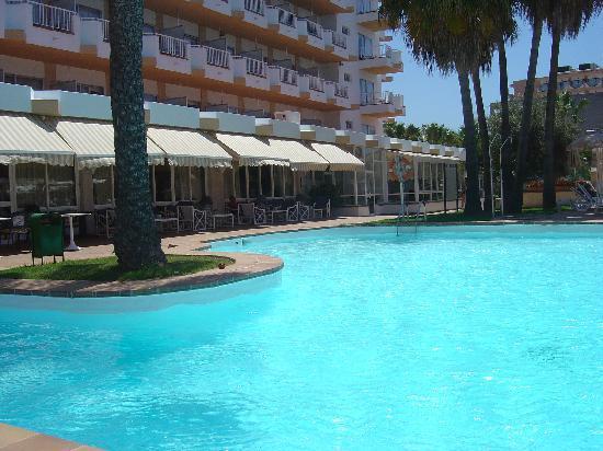 Hotel Riu San Francisco: Der Hotel-Pool