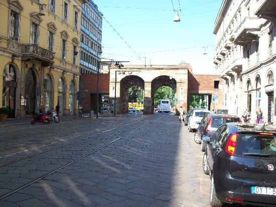 Archi di Porta Nuova: Porta Nuova lato interno