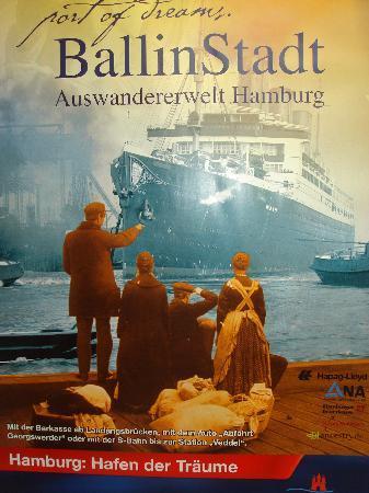 BallinStadt - Port of Dreams: Plakat
