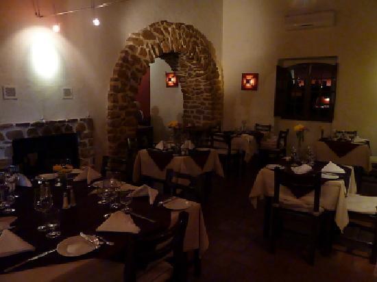 O Alambique: Restaurant innen