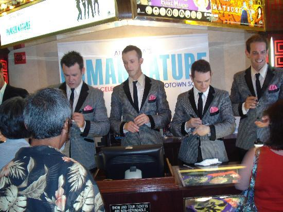 Human Nature: Jukebox: Signing their CD after the show