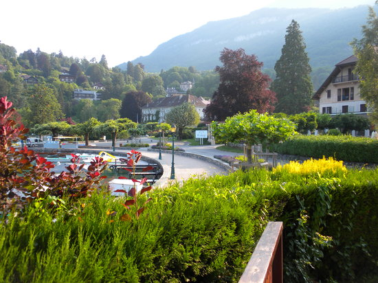 Talloires, France: another view from our room