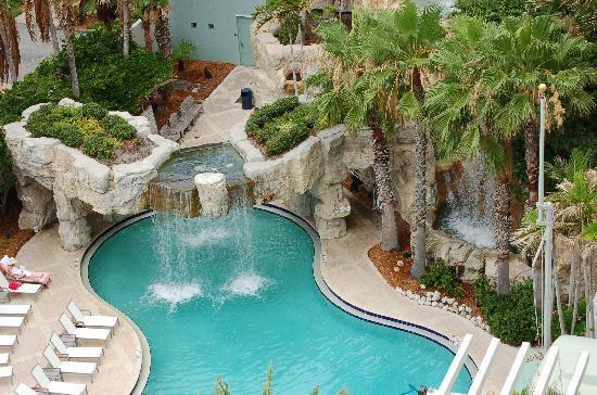 Hyatt Regency Sarasota Gorgeous Waterfalls View From Our Room