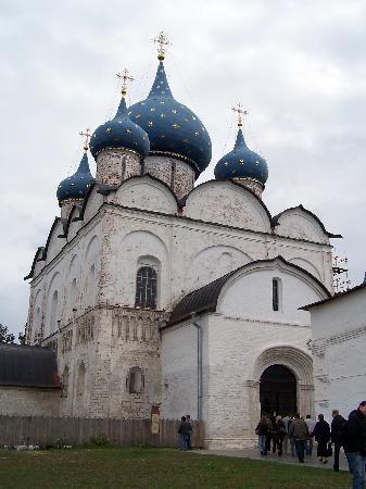 Suzdal, Rusia: Mariä-Geburts-Kathedrale