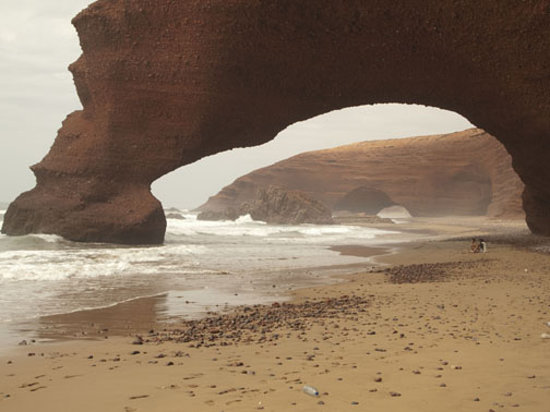 Mirleft, Morocco: Cliffs