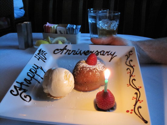 The Steakhouse: Dessert served-want one now :)