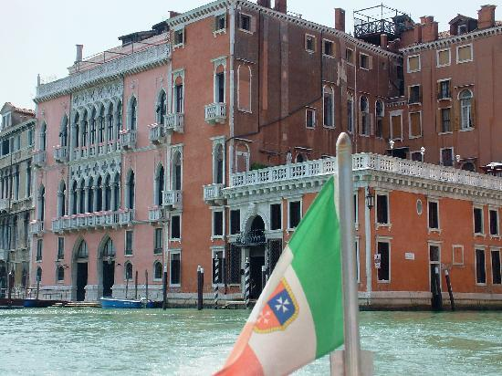 Hotel Palazzo Barbarigo Sul Canal Grande: photo de l'hôtel (la terrasse n'est pas à eux)