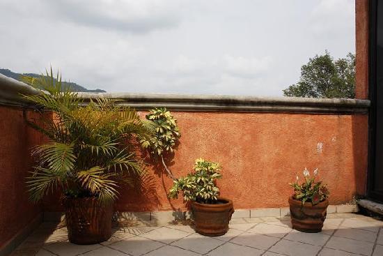 Nican Mo Calli : terraza