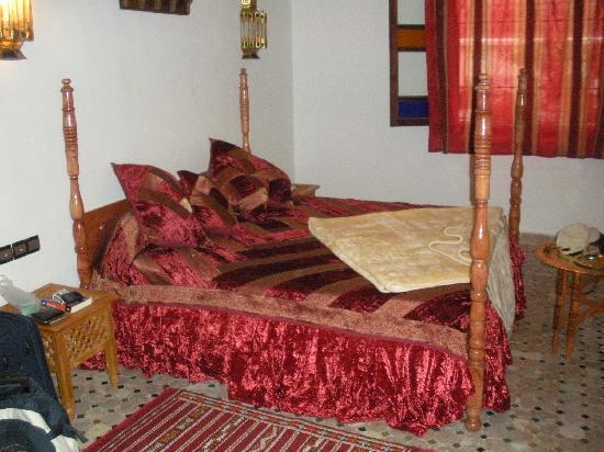 Riad Jardin Chrifa: ecco la foto della camera dove ho dormito....