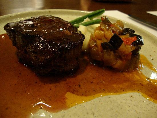 Matsu: Tenderloin Steak with Veal Juice