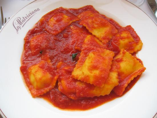 La Matriciana: Wonderful ravioli