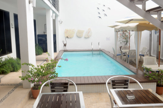 Hotel Casa Ticul: Casa Ticul's swimming pool