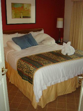 Residence Inn San Antonio Downtown/Market Square : Master bedroom