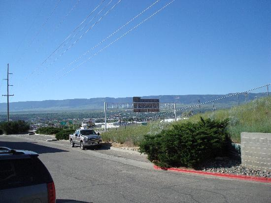 Motel 6 Casper : View of the city from the motel