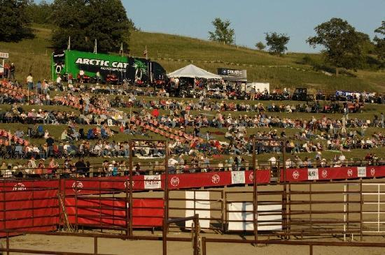 PRCA Rodeo at Red Horse Ranch Arena in Fergus Falls