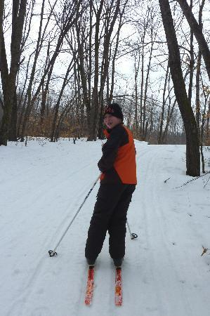 CC Skiing at Spidahl's in Fergus Falls, MN