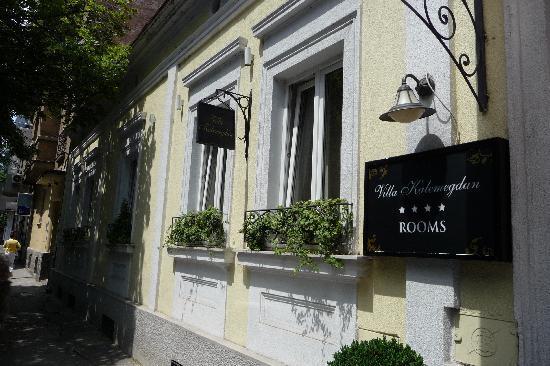 Hotel Villa Kalemegdan : La facciata del Villa Kalemegdan