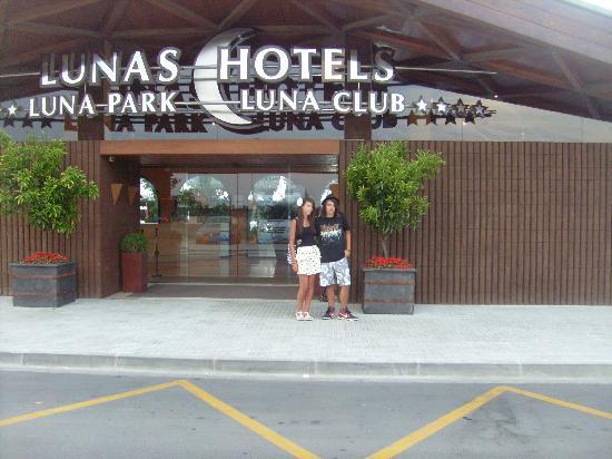 Luna Park Hotel: front of reception area
