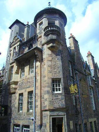 Writers' Museum: Ein architektonisches Juwel: das Lady Stair's House abseits der Royal Mile