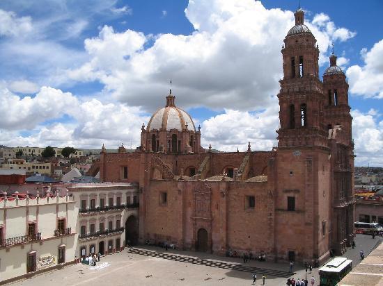 La hermosa Catedral de Zacatecas