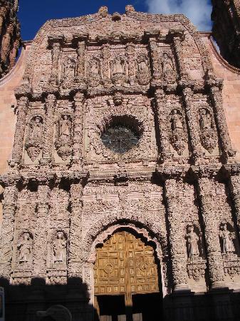 Zacatecas, Mexico: Fachada de Catedral