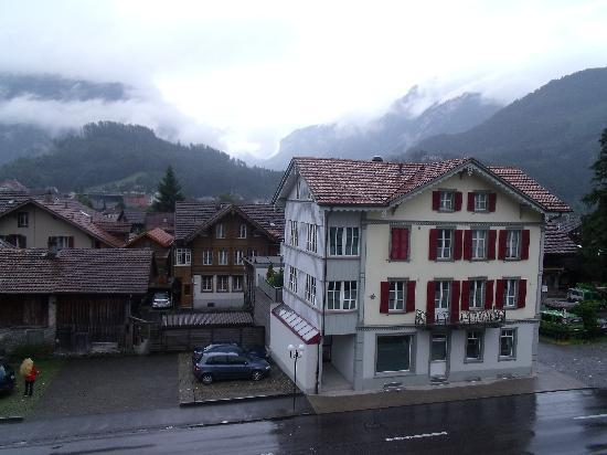 Residence Jungfrau: View from the Apartment. Beautiful Interlaken West