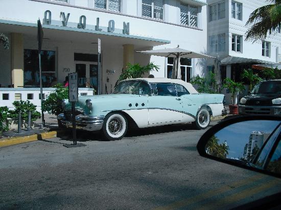 Miami, FL: driving on south beach