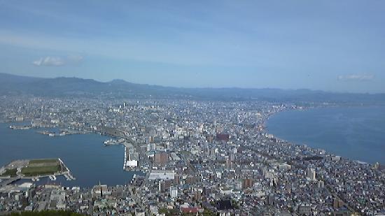 Hakodate, Japan: 昼間の函館山からの眺め