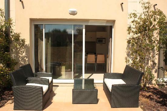 Azille, Frankrike: La terrasse