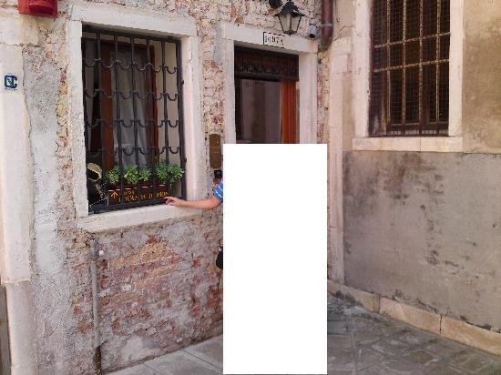 Locanda Herion: Hoteleingang