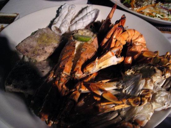 Andaman Steak and Seafood: l'aragosta e i calamari