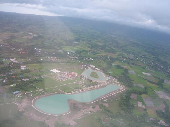 Pili, Philippinen: bird's eyeview of CWC