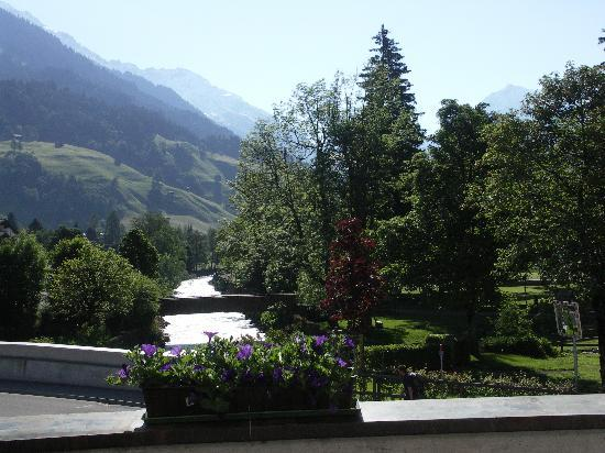 Silvretta Parkhotel Klosters: Room with a View!