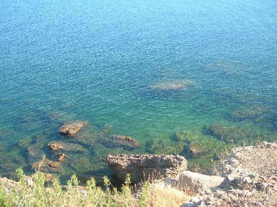 Isola di Capo Rizzuto, Italie : scogli