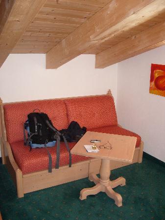 Hotel Europa: Seating area