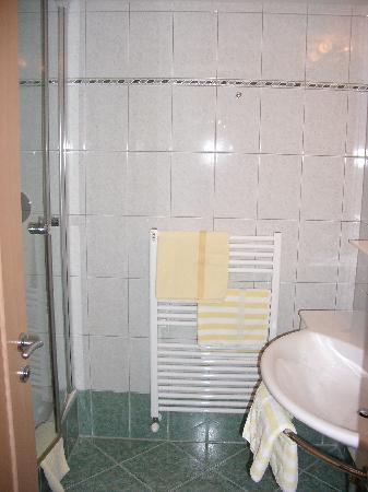 Hotel Europa: separate shower room